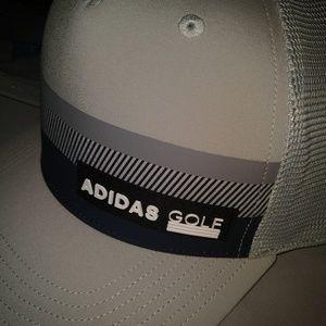 NWT Adidas Golf Hat Gray One Size